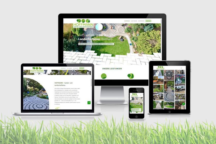 Wordpress Webseite (responsive) für die Firma Hoffmann in Bochum